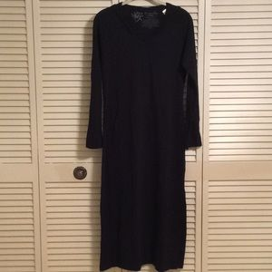 SOMA Tranquility Long Black Coverup-Size Small